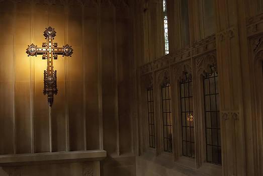 Bath Abbey England - 002 by Lisa Missenda