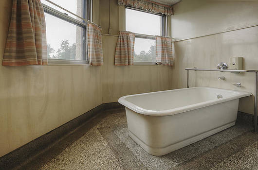 Bath Tub In A Residental Home. An Old by Douglas Orton