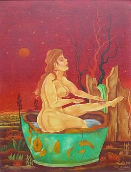 Bather by Mgr Art Jan Husarik