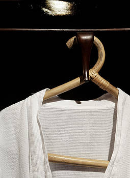 Kantilal Patel - Bathrobe Hanging Around Bamboo Hanger