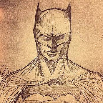 Batman Sketch by Rocky Martinez