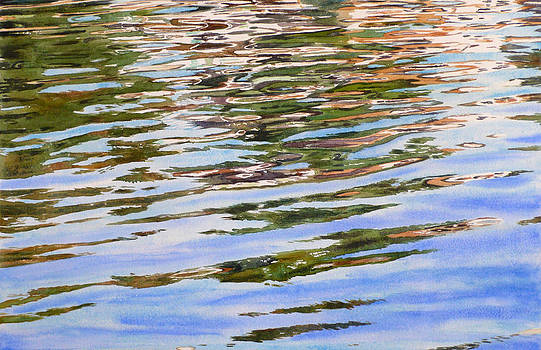 Bay Water by Kathleen Ballard
