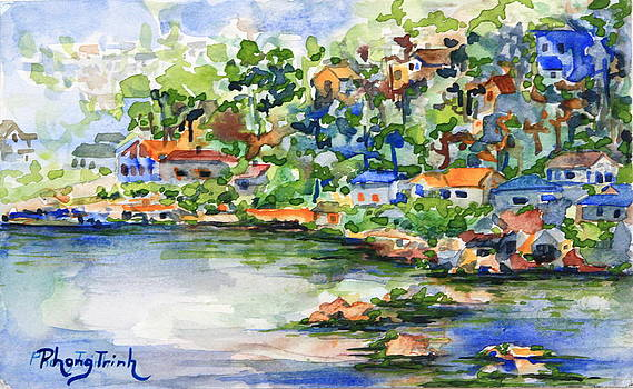 Bayside in Spring by Phong Trinh