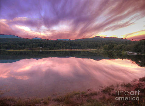 BC sunset by Jim Wright