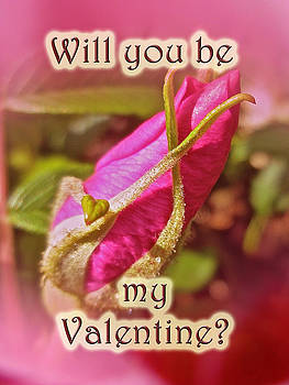 Mother Nature - Be My Valentine Greeting Card - Rosebud