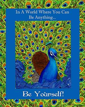 Be Yourself by The Art With A Heart By Charlotte Phillips