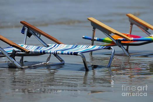 Beach Chairs by Dale Daniel