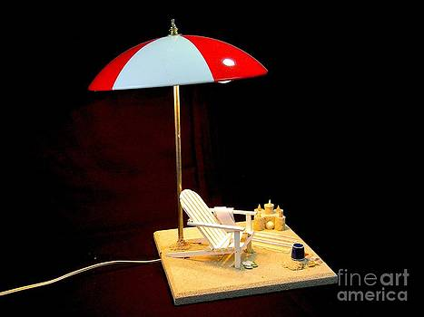 Beach Lamp by Eric Barich