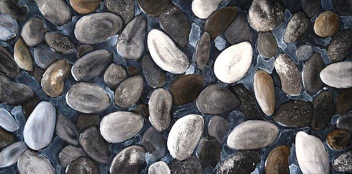 Beach Pebbles by Holly Donohoe
