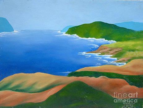 Beach Scene1 by Annette Jimerson