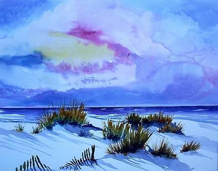 Beach Shadows II by Richard Willows
