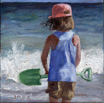 Beach Shovel by Jean  Smith