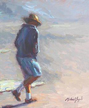 Beach Stroll by Michael Besoli