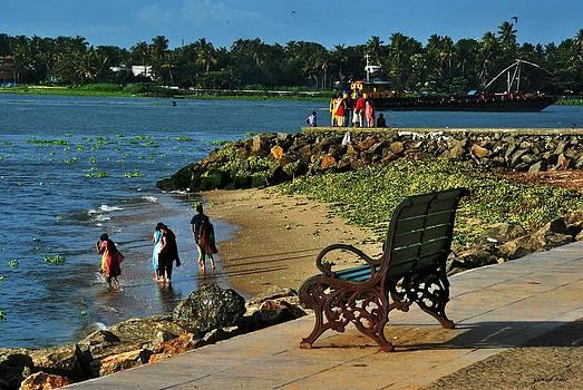 Beach by Vinod Nair