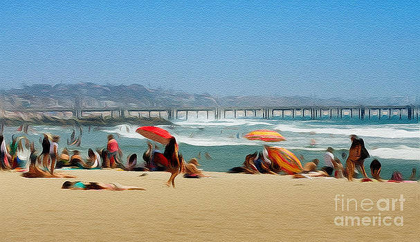 Beach by Zsuzsanna Szugyi