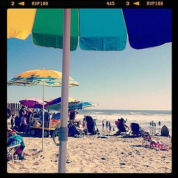 #beachumbrella #relax #labordayweekend by Lauren Laddusaw