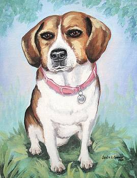 Beagle Love by Sandra Lett