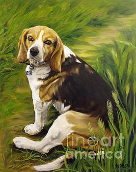 Beagle of Recognition by Harriet Muller