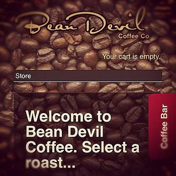 Beandevil.com Has A New Web App! It's by Joshua Pearson