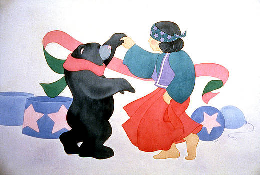 Bear Dancin' by Irene Hipps