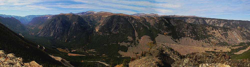 Bear Tooth Highway Panorama by Brad Scott
