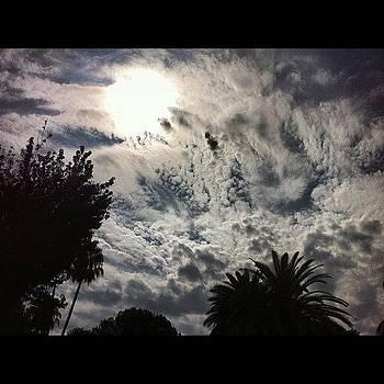 Beautiful Clouds Today ☁✨✨✨ by Melanie Kartawinata