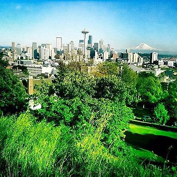 Beautiful Day In Seattle by Chris Fabregas