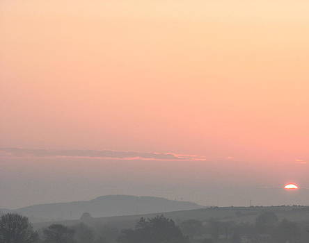 Joseph Doyle - Beautiful daybreak sunrise over the Wicklow mountains.
