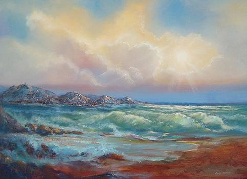 Beautiful Seascape by Holly LaDue Ulrich