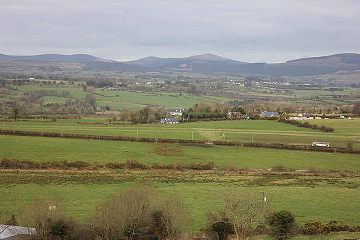 Joseph Doyle - Beautifully picturesque  Wicklow  mountain landscape with airstrip