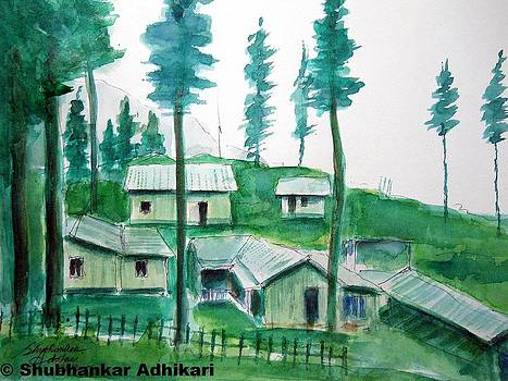 Beauty of Indian hills by Shubhankar Adhikari