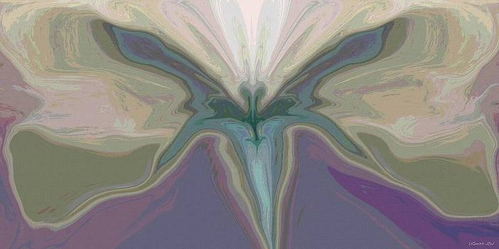 Beauty of the Butterfly 2 - Abstract 19 by Lynda K Cole-Smith