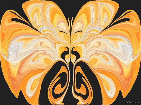 Beauty of the Butterfly 2 - Abstract 67 by Lynda K Cole-Smith