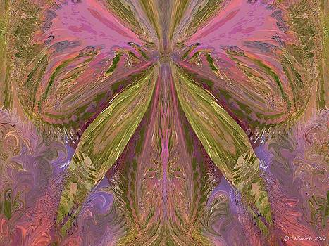 Beauty of the Butterfly 2 - Abstract 90 by Lynda K Cole-Smith