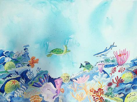 Beauty Under The Ocean by Renate Pampel