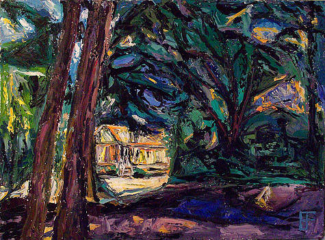 Allen Forrest - Beaux Arts Home Through The Trees