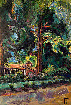 Allen Forrest - Beaux Arts Home Under The Trees