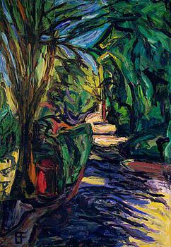 Allen Forrest - Beaux Arts Shadowed Lane