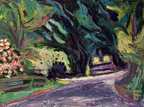 Allen Forrest - Beaux Arts Wooded Lane