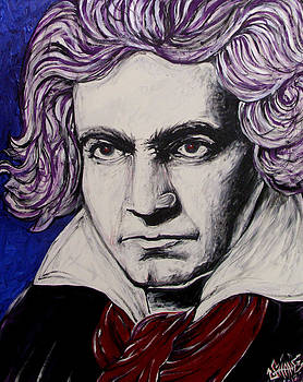 Beethoven The Original Led Head by Sam Hane