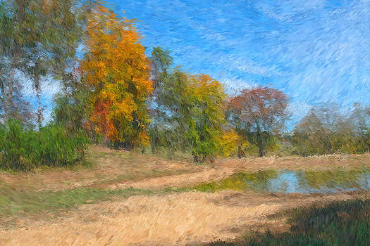 Carmen Del Valle - Beginning of Autumn Impressionism