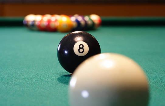 Behind the 8 Ball by Samuel Kessler