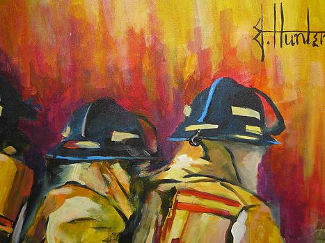 Behind the Heros by Jeff Hunter