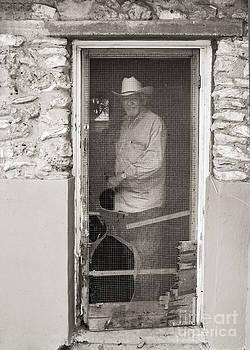 Behind The Old Screen Door by Sherry Davis