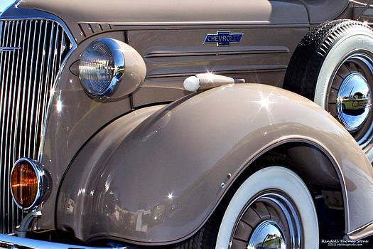 Randall Thomas Stone - Beige 1937 Chevrolet Pickup Truck