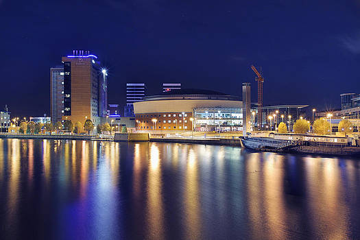 Belfast at Night by Drew McAvoy