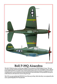 Bell P39Q Airacobra by Jerry Taliaferro