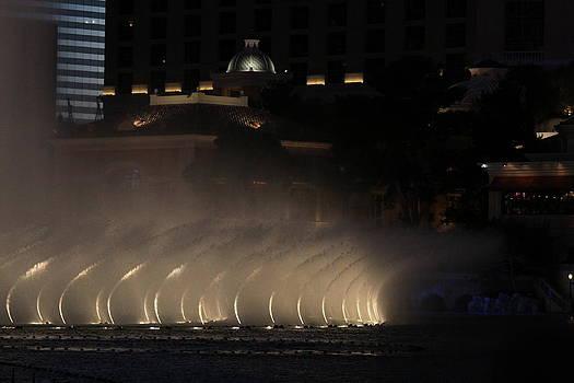 Bellagio Fountain Blur by Jay Warwick