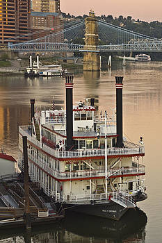 Belle of Cincinnati by Rick Hartigan