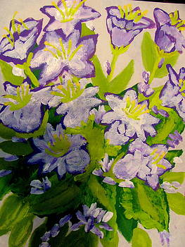 Bellflowers by Amy Bradley